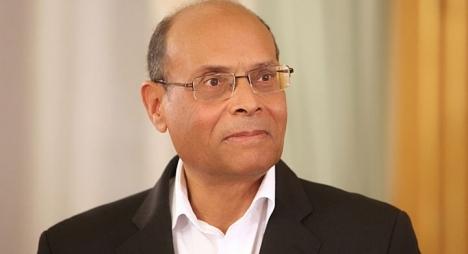 الرئيس التونسي السابق منصف المرزوقي يصدر كتابا جديدا