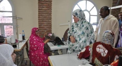 المصلي تتفقد مرافق مجمع الصناعة التقليدية بمدينة العيون