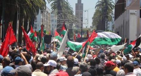 المدن مغربية تغضب من أجل القدس