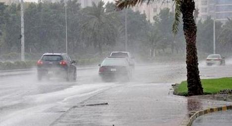 نشرة خاصة: أمطار رعدية قوية اليوم الخميس وغدا الجمعة بعدد من أقاليم المملكة