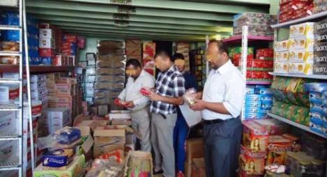 إتلاف 95 طنا من المواد الغذائية خلال العشرين يوما الأولى من رمضان