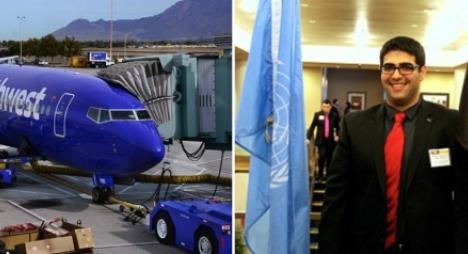 مسلم يرفع دعوى ضد شركة طيران أمريكية  قامت بطرده لحديثه بالعربية