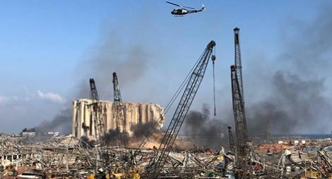 """حصيلة """"انفجار بيروت"""" ترتفع لأزيد من 100 قتيل وأربعة آلاف جريح"""