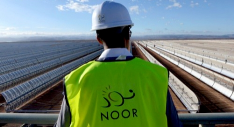 """مركب الطاقة الشمسية """" نور ورزازات """" يساهم في التحول الطاقي بإفريقيا"""