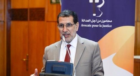 """العثماني: محامو """"العدالة والتنمية"""" يمتلكون إرادة راسخة لتعزيز المسار الحقوقي بالمغرب"""