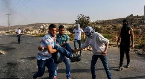 إصابة فلسطينيين برصاص جيش الاحتلال جنوبي الضفة