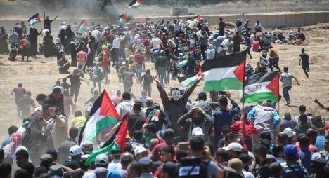 """هيئة حقوقية: 54 من جرحى المجزرة الإسرائيلية في حالة """"موت سريري"""""""