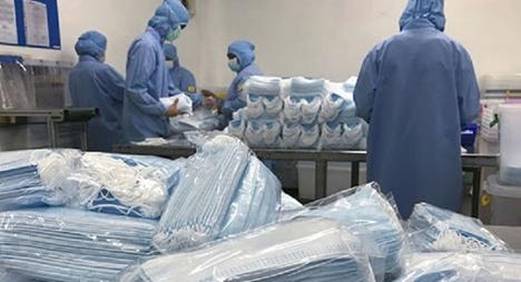 بشكل مجاني.. شركة متخصصة في النسيج الصناعي توفر 10 ملايين قناع صحي