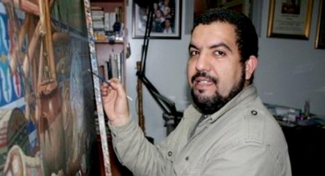 """تشكيلي مغربي يحصل على جائزة دولية في """"مسابقة الربيع السنوية"""" بفرنسا"""