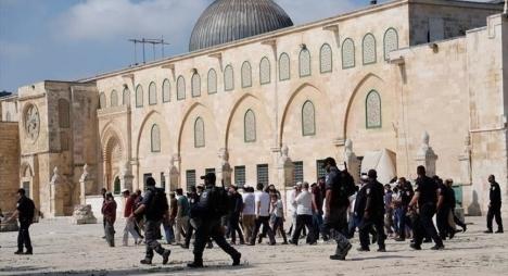 """132 مستوطنا يقتحمون المسجد """"الأقصى"""""""