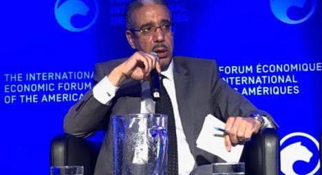 رباح يستعرض بمونتريال آفاق الاستثمار في قطاع التعدين بالمغرب