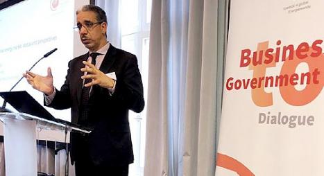 رباح: نريد مقاولة وطنية لها قدرة تنافسية وجلب أقصى ما يمكن من الاستثمارات الأجنبية