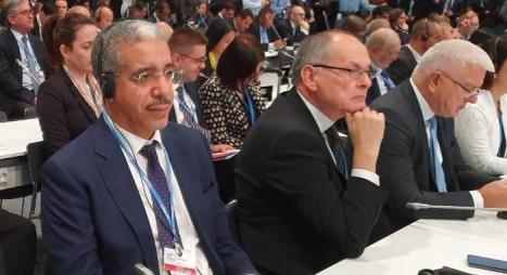 رباح يؤكد انخراط المغرب في الدينامية الدولية لصالح المناخ