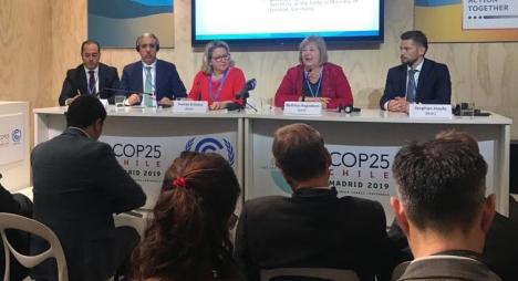 رباح: المغرب انخرط منذ فترة طويلة في سياسة للتنمية المستدامة وتطوير الطاقات المتجددة