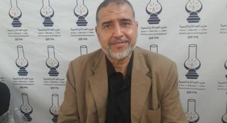 """محمد بيبودة منسقا جديدا لفريق """"المصباح"""" بمجلس جماعة وجدة"""