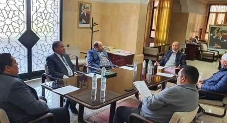 """ندوة رؤساء مقاطعات مراكش ترفض تبخيس مجهودات المنتخبين لمواجهة """"كورونا"""""""