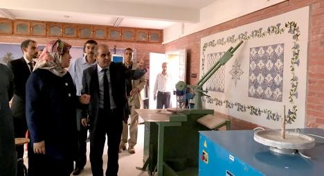المصلي تقف على تقدم أشغال مشاريع ملكية بآسفي