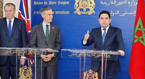 """بريطانيا تدعم جهود المغرب """"الجدية"""" بشأن ملف الصحراء"""