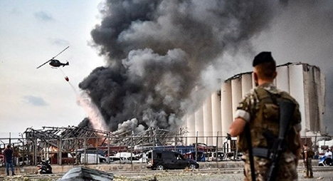 لبنان.. رئيس الجمهورية يحيل ملف الانفجار على أعلى سلطة قضائية بالبلد