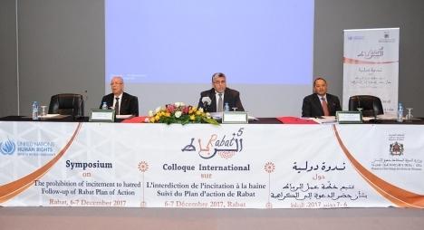 الرميد: المغرب بتجربته التاريخية ومرجعيته الإسلامية رائد في محاربة الكراهية