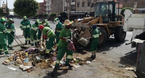 في أول أيام عيد الأضحى.. جماعة آسفي تربح رهان مدينة نظيفة وجميلة