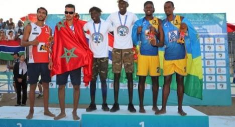 الألعاب الإفريقية.. المنتخب المغربي للكرة الطائرة الشاطئية يفوز بالميدالية الفضية