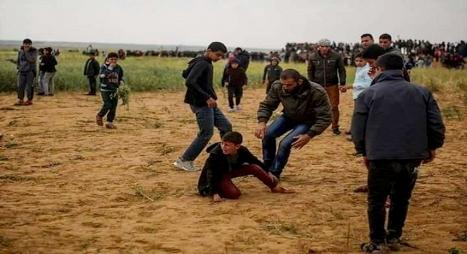 يونيسف: إصابة أزيد من ألف طفل فلسطيني بمسيرات العودة