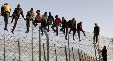 إحباط محاولة اقتحام ما يناهز 250 مهاجرا سريا لسبتة