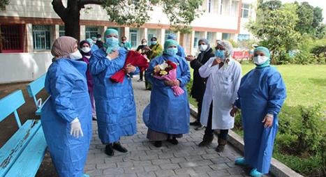 """حصيلة التعافي من """"كورونا"""" بالمغرب ترتفع إلى 10281 حالة"""