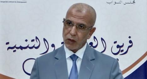 """العمراني يجدد التأكيد على الموقف المبدئي لــ""""المصباح"""" في احترام أحكام القضاء (فيديو)"""