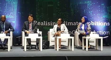 كوريا الجنوبية.. الوفي تبرز اهتمام المغرب بالجانب المناخي