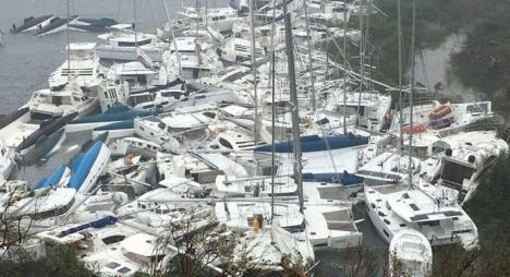 إعصار إيرما يخلف خسائر تزيد عن 120 مليار دولار