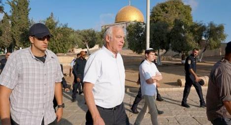 وزير الزراعة في حكومة الاحتلال الاسرائيلي يقود اقتحامات للمسجد الأقصى