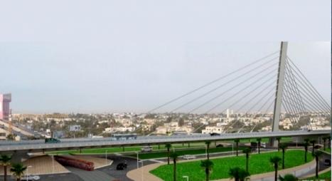 رسميا..افتتاح الجسر المعلق لسيدي معروف بالدار البيضاء