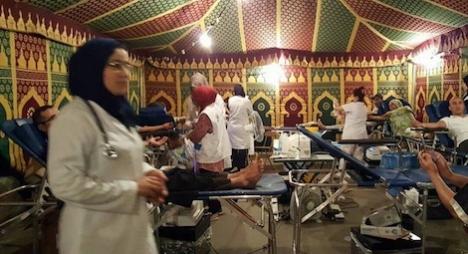 هكذا يتزايد إقبال المغاربة على التبرع بالدم في رمضان