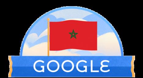 """""""غوغل"""" يحتفل باستقلال المغرب"""