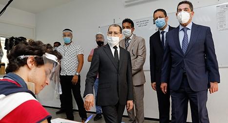 رئيس الحكومة: امتحانات البكالوريا تمر وفق الاحتياطات الصحية اللازمة