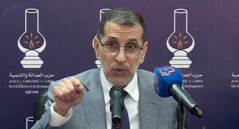 العثماني يدعو أعضاء العدالة والتنمية إلى مزيد من الوحدة والتماسك