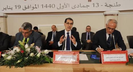 العثماني: نتواصل بصدق مع الجهات ونحتاج للارتقاء بخطابنا السياسي