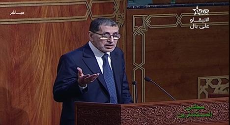 """العثماني: مقاربة المغرب في مجابهة """"كورونا"""" أثبتت نجاعتها وتدعو للفخر والاعتزاز"""