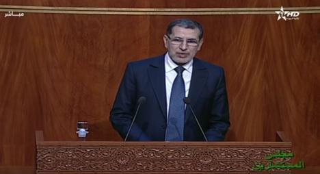العثماني: الحكومة حريصة على الالتزام بتقليص الفوارق الإجتماعية