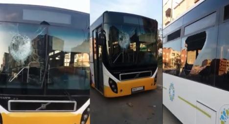 لماذا تتعرض حافلات القنيطرة للتخريب الدائم والمتعمد؟