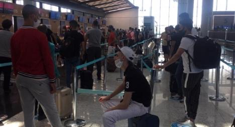 تواصل عملية ترحيل المغاربة العالقين بتركيا بإعادة أزيد من 300 مواطن