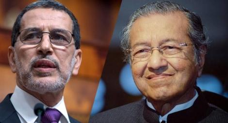 العثماني يهنئ مهاتير رئيس وزراء ماليزيا