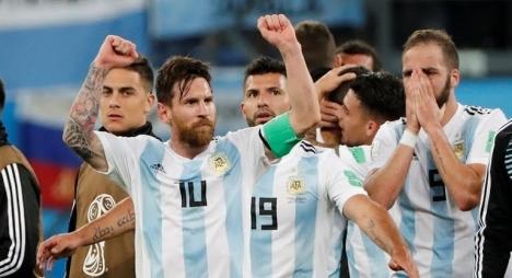 الأرجنتين تعود من بعيد وتتأهل للدور الثاني من المونديال على حساب نيجيريا
