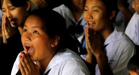 """نهاية مُفرحة لـ""""فتية الكهف"""" التايلانديين"""