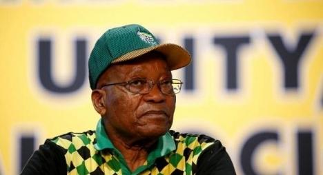 زوما يعلن استقالته من رئاسة جنوب افريقيا