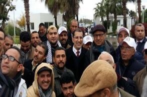العثماني يستعرض ورش التغطية الاجتماعية لأصحاب...