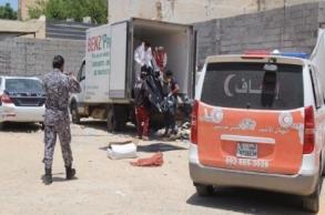 ليبيا.. مصرع 6 أطفال واختناق نحو 100 مهاجر بشاحنة...