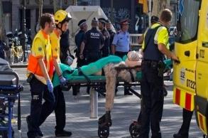 إصابة ثلاثة مغاربة من بينهم طفل في هجوم برشلونة